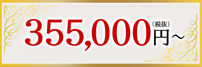 355,000円~(税抜)