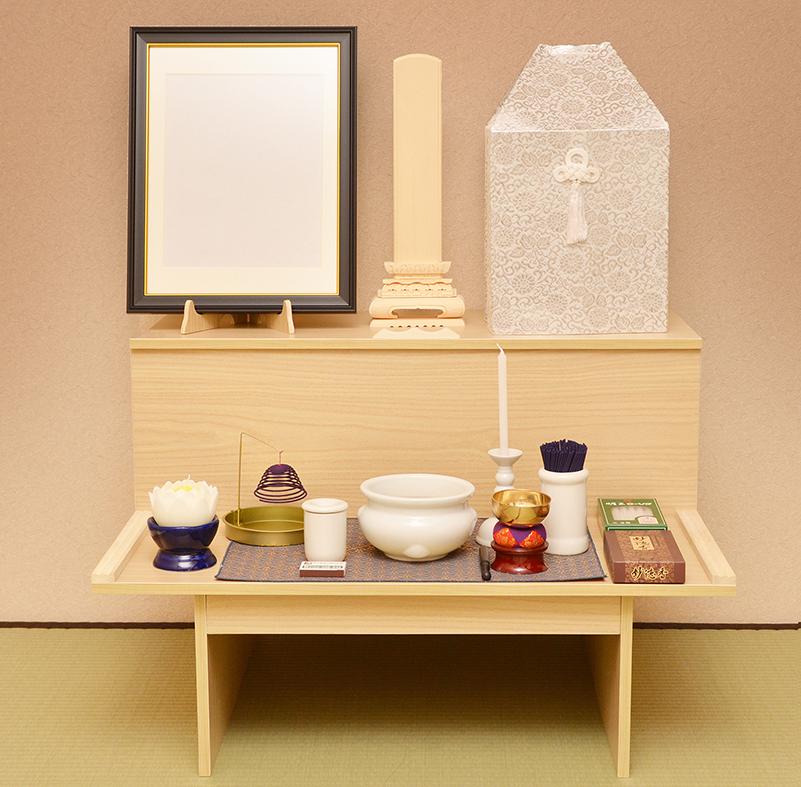 自宅飾り祭壇