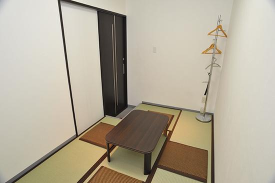 ご遺族控え室 宿泊施設も用意しております