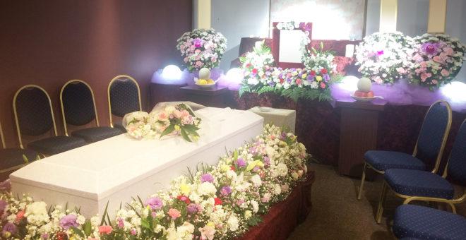 家族葬 施工例04