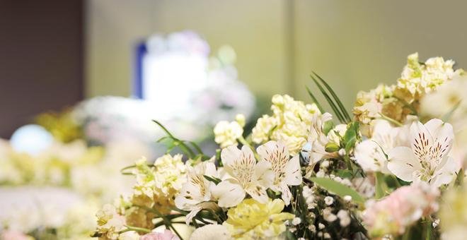 オリジナル花祭壇 イメージ