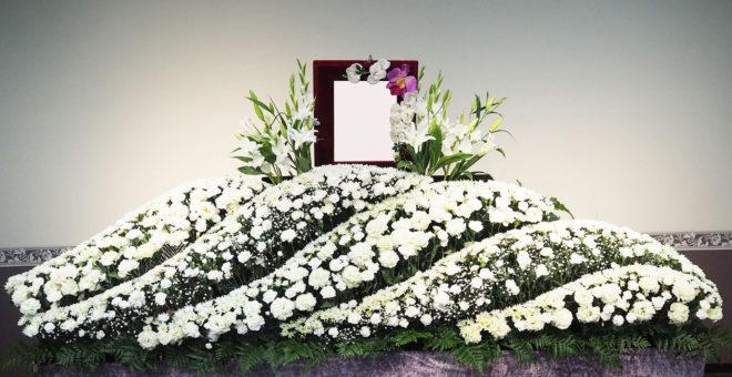 一般葬プラン 祭壇例