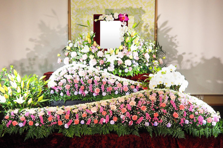 家族葬 花祭壇イメージ
