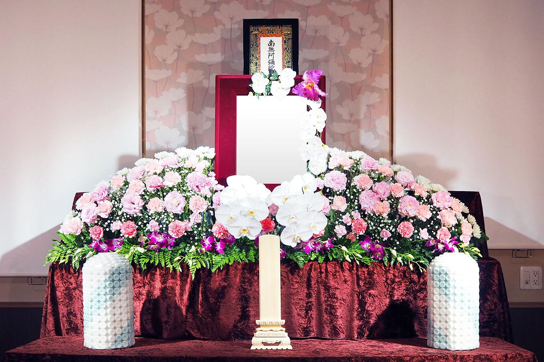 一日葬 花祭壇イメージ