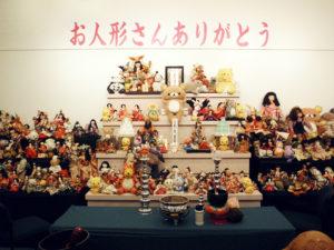 集まったお人形たち